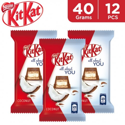 KitKat 5f Coconut Chocolate 12 x 40 g