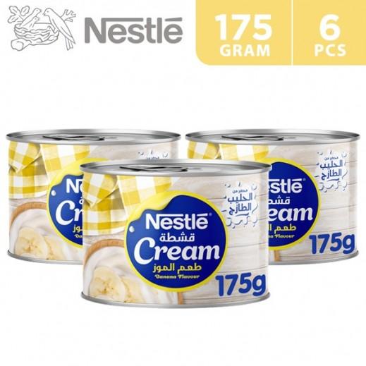 Nestle Cream Banana Flavour 6 x 175 g