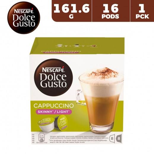 Nescafe Dolce Gusto Skinny Cappuccino 161.6 g (16 Capsules)