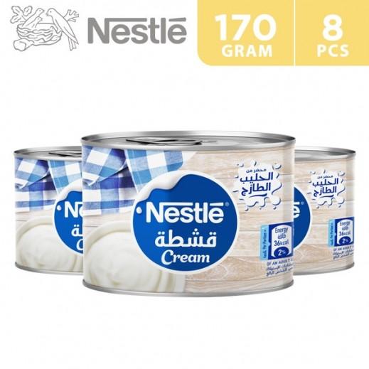 Nestle Pure Dairy Sterilised Cream 170 g (7 + 1 Free)