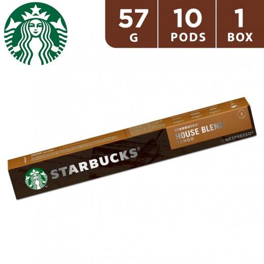 Starbucks Nespresso House Blend Coffee 10 Capsules