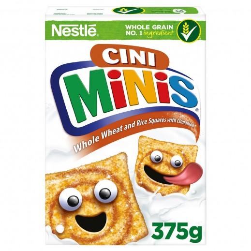 Nestle Breakfast Cereal Cini Minis Cinnamon 375 g