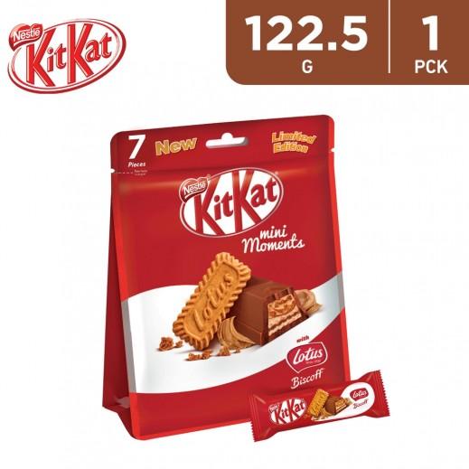Kitkat Mini Moments Lotus Chocolate Pouch 122.5 g