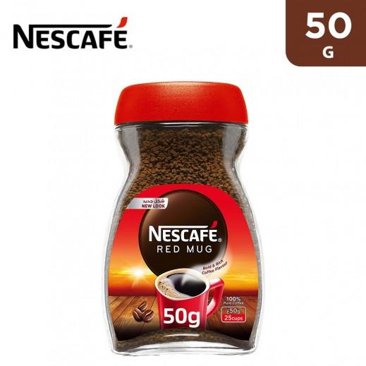 Nescafe Red Mug Soluble Coffee 50 g