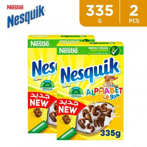 Nesquik Alphabet Cereal 2 x 335 g
