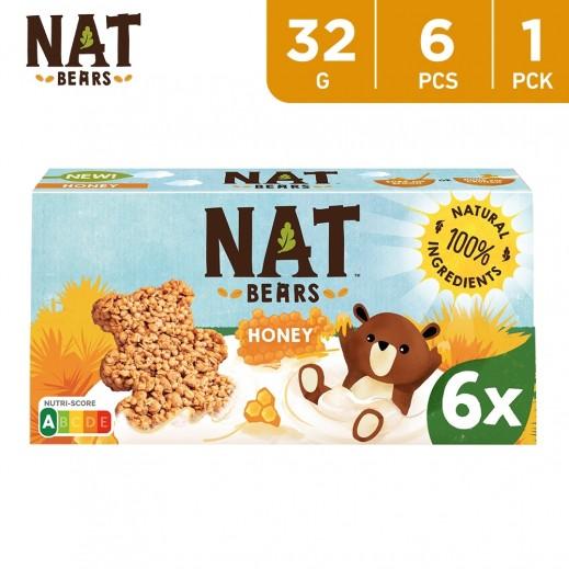 Nat Bears Chocolate Cereals 6 x 32 g