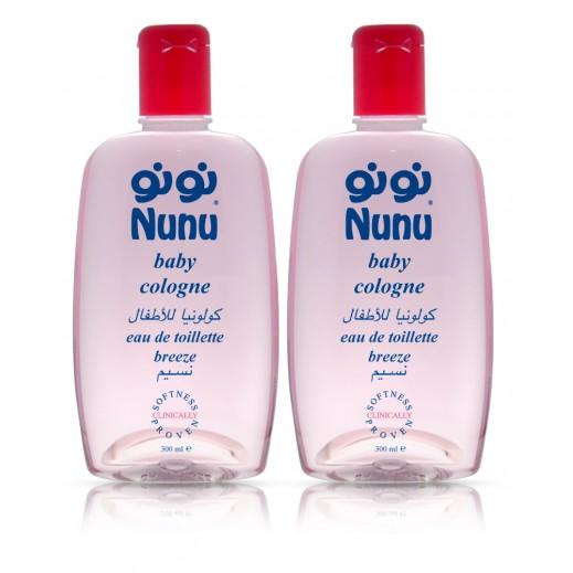 Nunu Baby Cologne Cap 300 ml (1+1 Free)