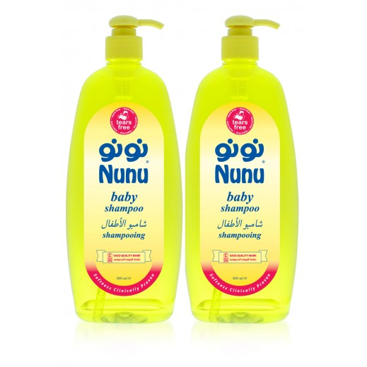 Nunu Baby Shampoo 800 ml (1+ 1 Free)