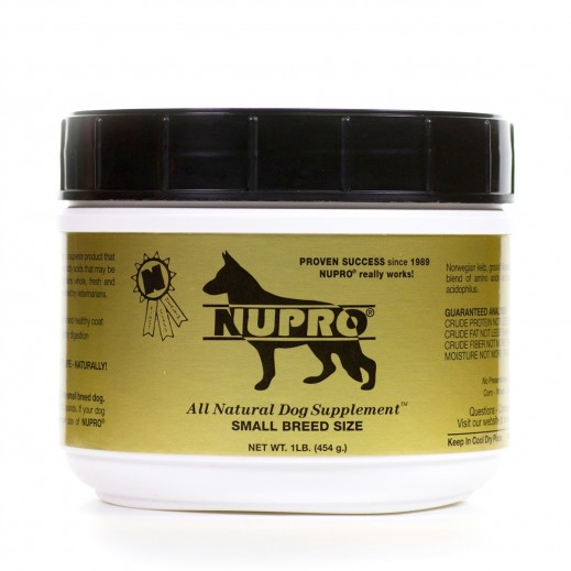 Nupro Gold All Natural Dog Supplement For Small Breed Size 454 g