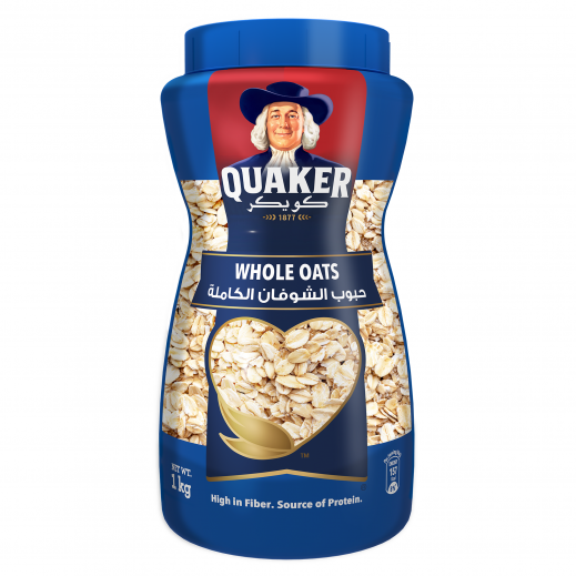 Quaker Whole Oats Pet 1 kg