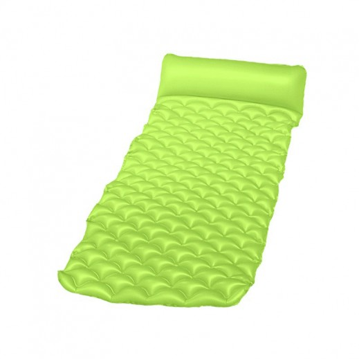 Bestway Float'n Roll Air Mat Green (213cm x 86cm)