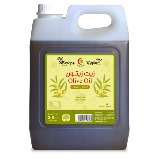 Mujezat Al Shifa Jordanian Extra Virgin Olive Oil 3.8 L