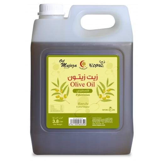 Mujezat Al Shifa Palestinian Extra Virgin Olive Oil 3.8 L