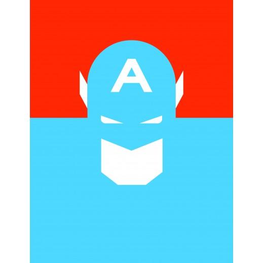 Captain America Illustration Poster - delivered by Berwaz.com