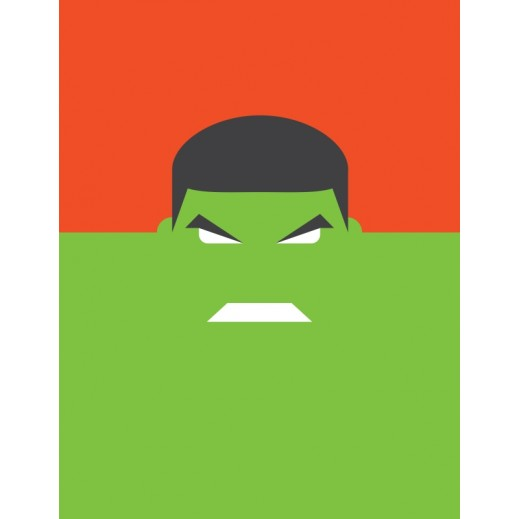The Incredible Hulk Poster - delivered by Berwaz.com