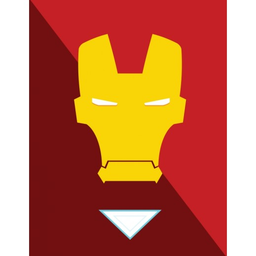 Iron man Poster - delivered by Berwaz.com
