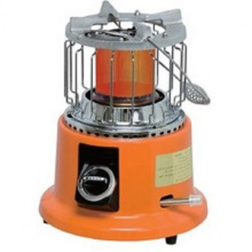 Orca 2 in 1 Gas Heater & Cooker 1,800W – Orange