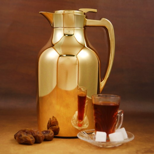 ASC Mydot Deluxe Vaccum Flask Gold 1.3 L
