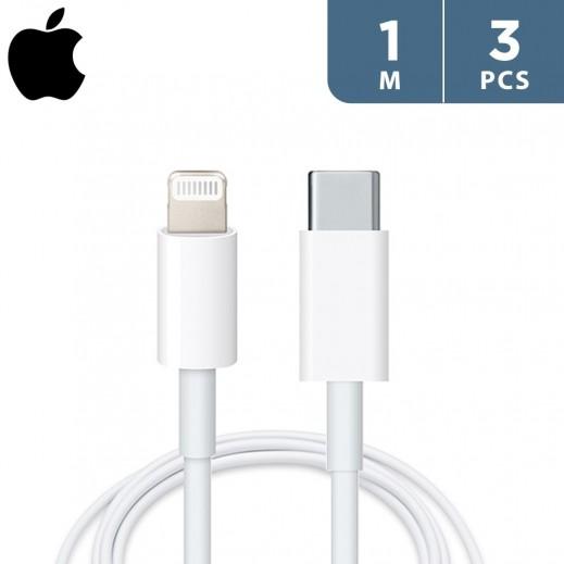 Apple USB-C to Lightning Cable 1m (3 PCS)