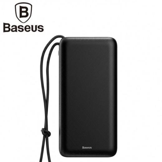Baseus 20,000 mAh Mini Power Bank – Black