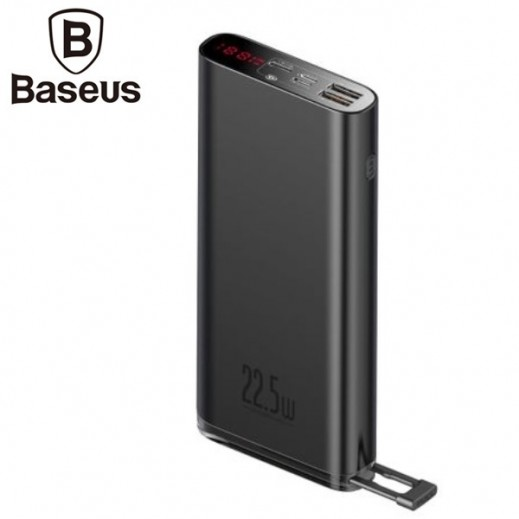 Baseus 20,000 mAh Power Bank – Black