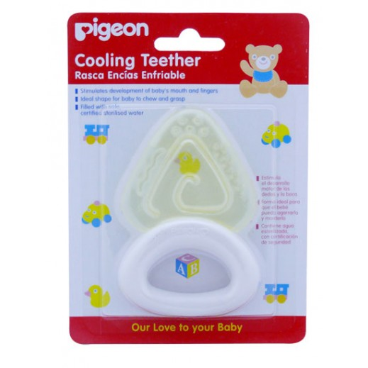Pigeon Cooling Teether (Triangle)