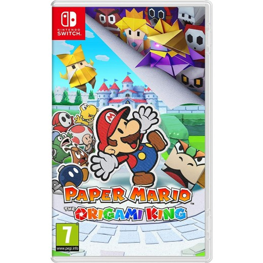 Paper Mario: The Origami King for Nintendo Switch – PAL
