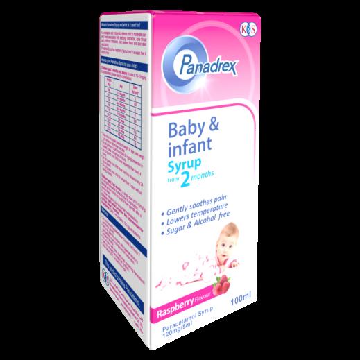 Panadrex Baby & Infant Syrup (120 mg/5 ml) 100 ml