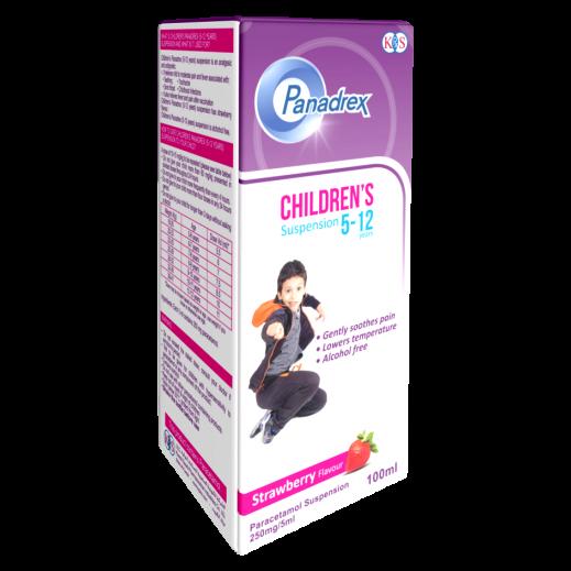 Panadrex Children Suspension (250 mg/5 ml) 100 ml