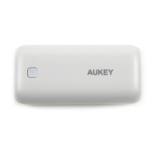 Aukey Mini Power Bank 5000 mAh - Silver