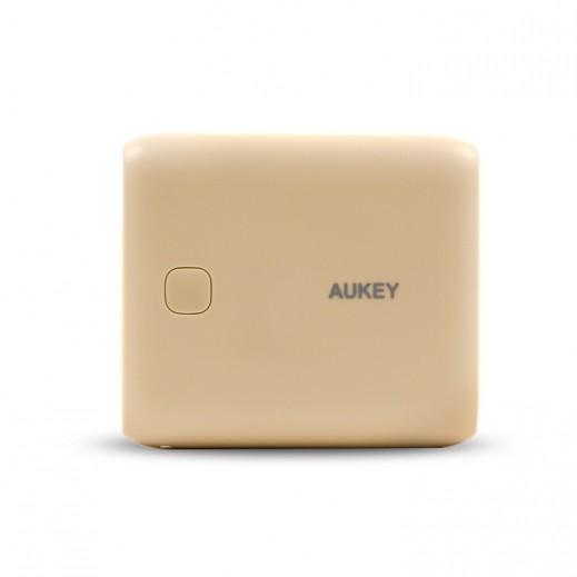 Aukey Power Bank 10,000 mAh - Gold