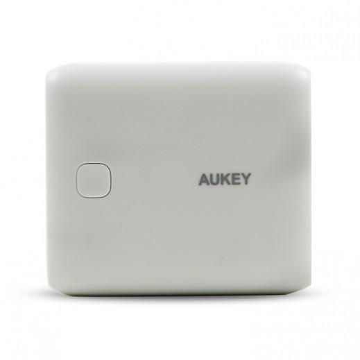 Aukey Power Bank 10,000 mAh - Silver