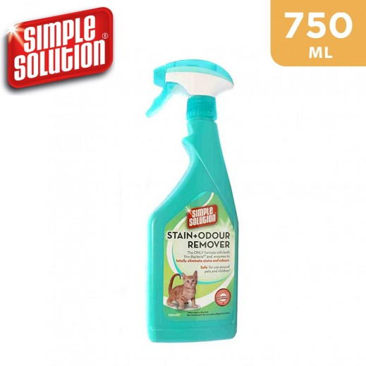 Simple Solution® Stain&Odour Remover Cat Spray (750 ml)