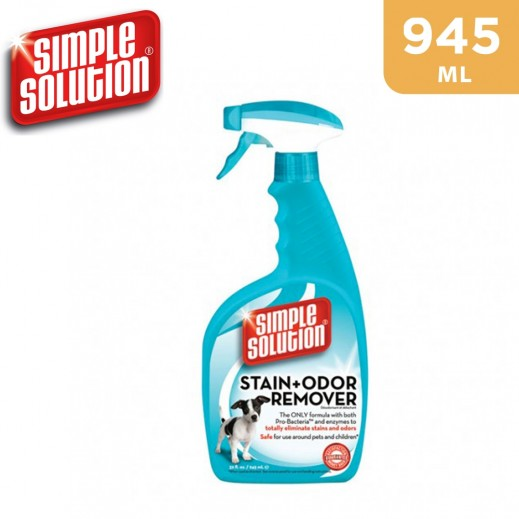 Simple Solution Stain & Odor Remover Dog Spray 945 ml