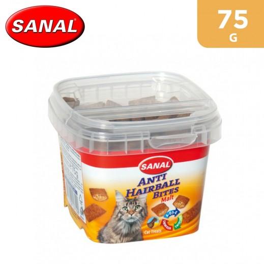 Sanal Cat Anti-Hairball Bites Cup 75 g