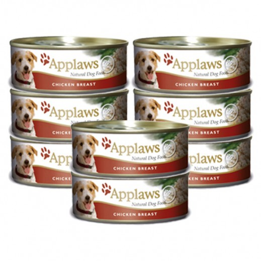 Valuepack - Applaws Natural Dog Food Chicken With Rice 156 g (8 Pieces)