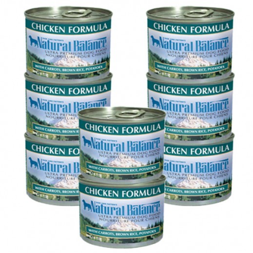 Valuepack - Natural Balance Chicken Formula Dog Food 170 g (8 Pieces)