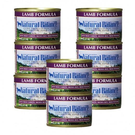 Valuepack - Natural Balance Lamb Formula Dog Food 170 g (8 Pieces)