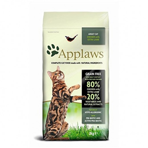 Applaws Adult Dry Cat Food Chicken With Extra Lamb 2 kg