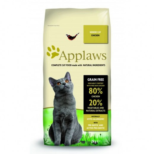 Applaws Senior Dry Cat Food With Chicken 2 kg