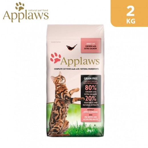 Applaws Adult Dry Cat Food Chicken With Extra Salmon 2 kg