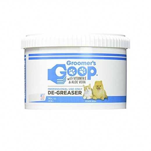Groomers Goop With Vitamin E & Aloe Vera De Greaser For Pets 396 ml