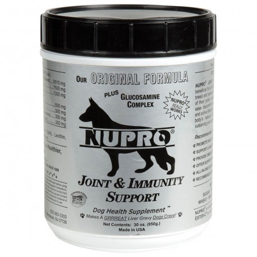 Nupro Joint & Immunity Support Dog Health Supplement 850 g
