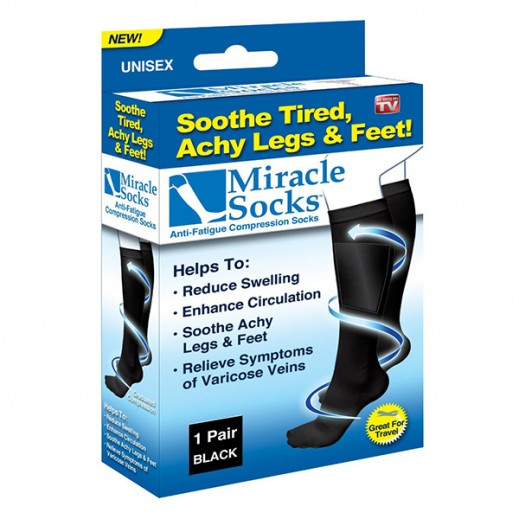 Miracle Socks Anti-Fatigue Compression Socks