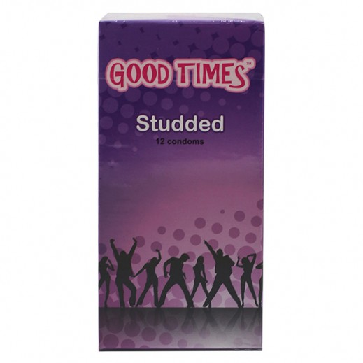 Good Times Studded Condoms 12 pcs