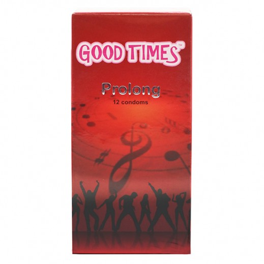 Good Times Prolong Condoms 12 pcs