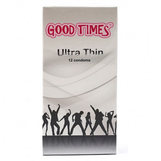 Good Times Ultra-Thin Condoms 12 pcs