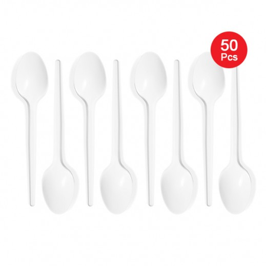 Falcon Crown Plastic Table Spoon 50 pieces