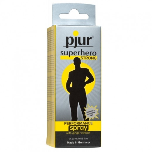 Pjur Superhero Strong Performance Delay Spray For Men 20 ml