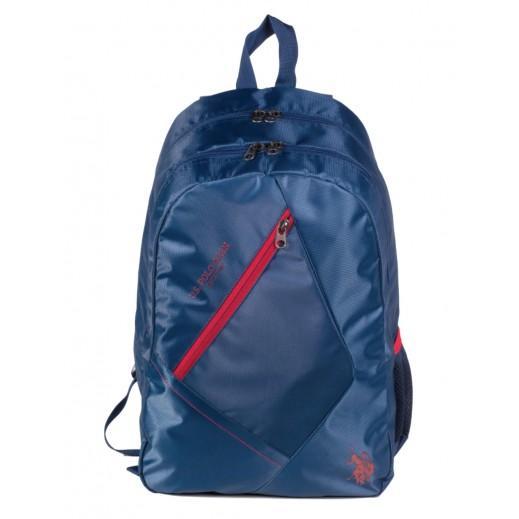 US Polo Assn Back Pack 9115 Blue 46.9 cm